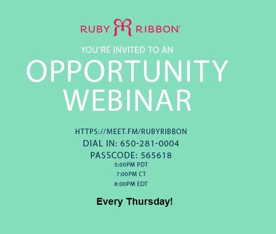 Every Thursday opportunity call