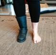 boots leggings