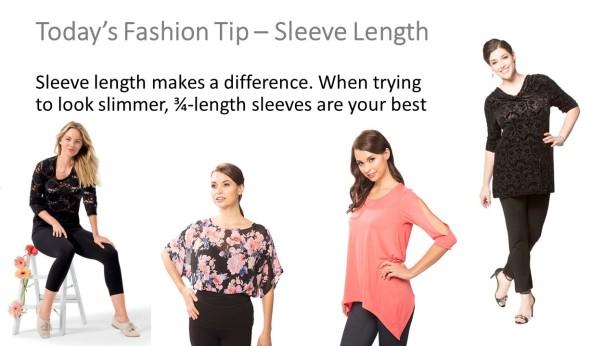 sleeve length tip