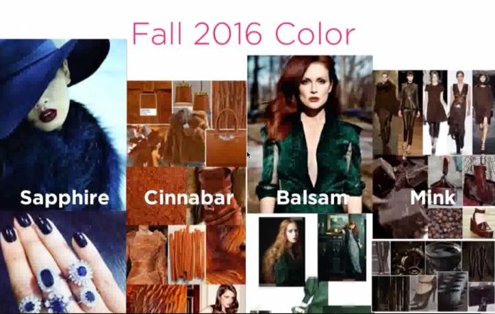 Fall Capsule Colors
