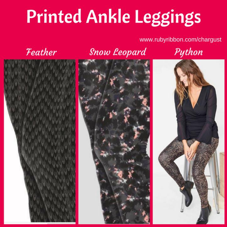 Printed Ankle Leggings